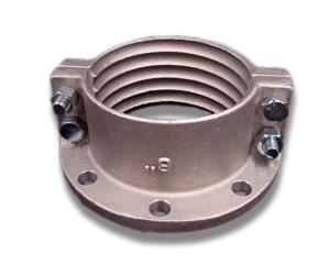 Brida de aluminio de Split